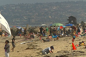 Fourth Of July Revelers Encouraged To Keep San Diego Beac...