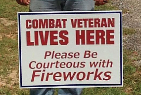 Tease photo for Combat Veteran's Fourth Of July Request For Fireworks Courtesy Goes Viral