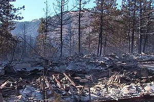 217-acre Banner Fire East Of Julian Contained