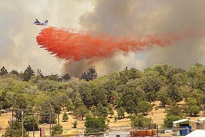 Tease photo for San Diego Fire-Rescue Going Door-To-Door To Get Residents To Clear Brush