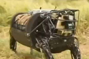 Tease photo for 'Cujo' The Robotic Mule Helps Marines Take A Load Off (Video)