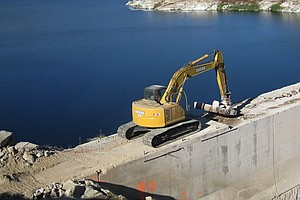 Tease photo for San Diego Water Authority Dedicates Raised San Vicente Dam
