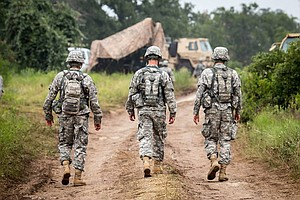 Tease photo for No California National Guard Troops Headed To Border With Mexico