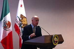 Brown Says California Ready To Help In Immigration Crisis...