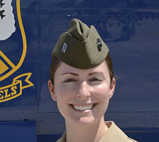 Tease photo for Female MCAS Miramar Marine Named To 2015 Blue Angels Team