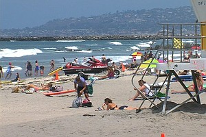Tease photo for San Diego Leaders Want New System To Test Beaches' Water Quality