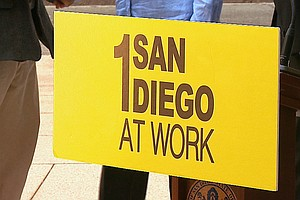 Mayor Faulconer Unveils 'San Diego Works' Program For Mon...
