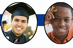 Tease photo for Why Are Minority Men Struggling To Finish Community College?