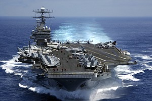 Carl Vinson Carrier Strike Group Departs San Diego Friday...