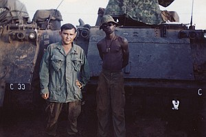 Tease photo for Vietnam Vet Writes Novel 'Raw Man' To Promote PTSD Awareness