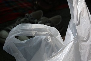 Tease photo for Assembly Approves Ban On Plastic Bags In California