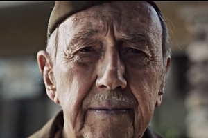 Tease photo for WWII Veteran From California Stars In TV Commercial (Video)