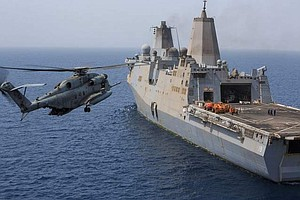 U.S. Marine Helicopter Crashes In Gulf Of Aden, All 25 Ab...