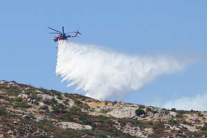 SDG&E Contracts For Use Of Firefighting Helitanker, Secon...