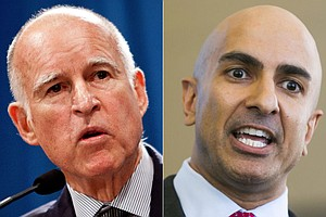 Tease photo for Governor's Debate: Kashkari Gets His One Shot At Brown
