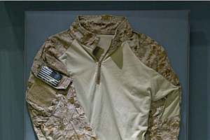 Tease photo for 9/11 Museum Displays Shirt Of Navy SEAL Who Killed Osama Bin Laden (Video)