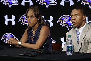 Tease photo for Baltimore Ravens Cut Ray Rice After New Video Surfaces