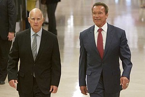 Tease photo for Schwarzenegger Praises California Climate Change Record