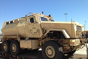 Tease photo for San Diego Unified School Board Not Notified About Military-Style Vehicle