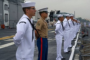 USS America To Arrive In New Homeport Of San Diego On Mon...