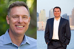 Tease photo for Peters, DeMaio In Dead Heat In Latest Poll
