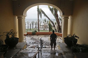 Tease photo for Cabo Tourists Begin Arriving In San Diego After Hurricane Odile
