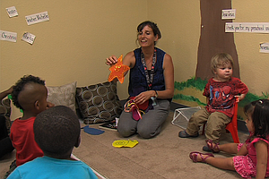 New Children's Center Keeps Homeless Toddlers Off San Die...