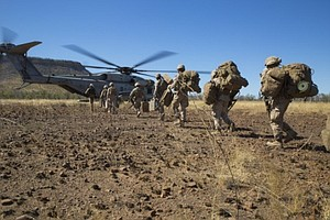 Tease photo for Camp Pendleton Marines Lead New Crisis Response Unit In Middle East