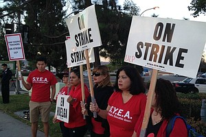 San Ysidro School District Teachers Strike