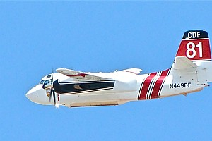 California Reactivates 22 Firefighting Airplanes