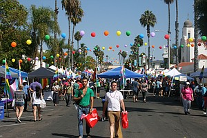 Tease photo for North County's LGBT Community Celebrates 'Pride By The Beach' Festival