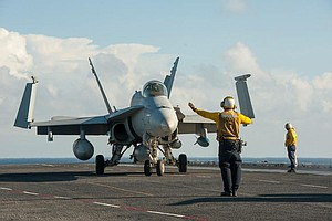Carl Vinson Carrier Strike Group Arrives In Middle East (...
