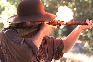Tease photo for Mountain Men Recreate 1800s Fur Trading Camp North of Julian