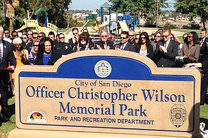 Tease photo for Skyline Park Renamed In Memory Of Slain San Diego Police Officer