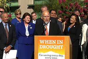 Tease photo for Brown Urges 'Yes' Vote On Water Bond, Rainy Day Fund At San Diego Stop