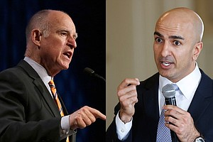 Tease photo for California's Race For Governor A Contrast Of Styles