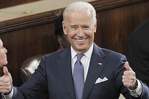 Tease photo for Biden In San Diego To Campaign For Peters In 52nd Congressional Race