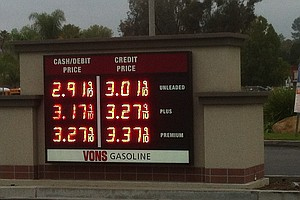San Diego Gas Prices Continue To Tumble