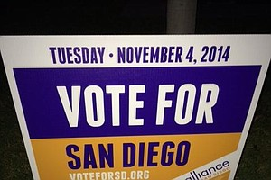Tease photo for Groups Working To Get San Diegans To Vote Tuesday