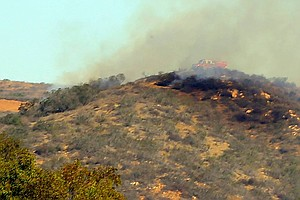 Tease photo for Camp Pendleton Brush Fire 100 Percent Contained