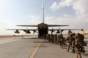 Tease photo for Camp Pendleton Marines Return From Afghanistan Thursday (Video)