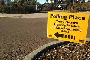 Tease photo for San Diego County Voter Turnout Meets Low Expectations