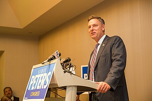Tease photo for Peters Has Slight Lead Over DeMaio In Thursday's 52nd District Vote Total