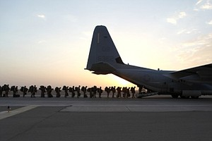 Tease photo for Last Camp Pendleton Marines Return From Afghanistan