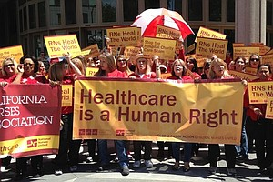 Tease photo for Northern California Nurses On Strike
