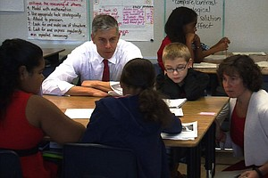 Tease photo for U.S. Secretary Of Education Visits San Diego To Talk Common Core