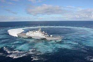 USS Fort Worth Departs San Diego Monday For Record 16-Mon...