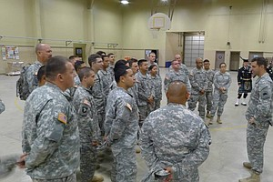 Tease photo for California National Guard Linguists To Aid In Africa's Ebola Battle
