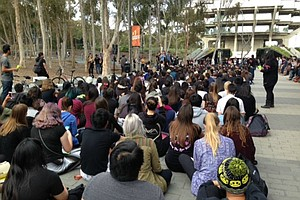 Tease photo for UCSD Students Protest Tuition Hike Proposal