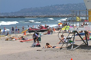 High Surf Expected At San Diego County Beaches Wednesday